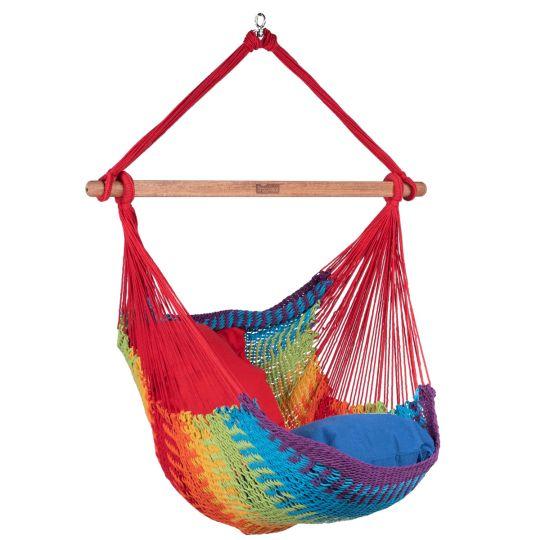 Fotel hamakowy1-osobowy Mexico Rainbow
